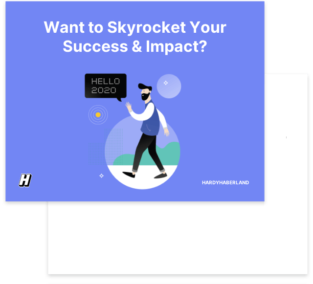 Want To Skyrocket Your Success & Impact?
